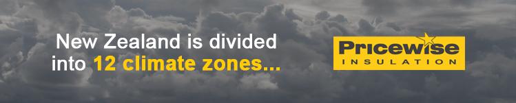 New Zealand has 12 climate zones