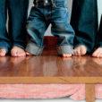 Pink Batts Snug Floor Insulation installed under wooden floorboards