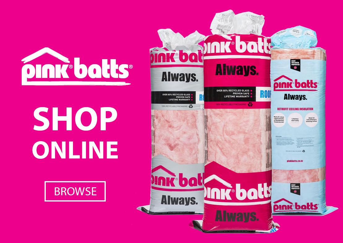 Pricewise Insulation Banner - Buy Pink Batts Insulation in New Zealand