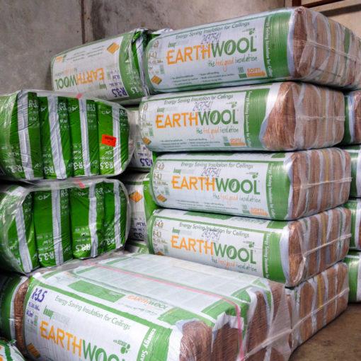 430mm Knauf Ceiling Insulation Segments Earthwool